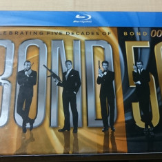 James Bond 50: Celebrating Five Decades of Bond 007 Blu-ray Disc - Film Colectie sony pictures, Romana