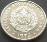 Moneda 15 Bani - ROMANIA, anul 1975 *cod 1617 Allu, Aluminiu