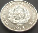 Moneda 15 Bani - ROMANIA, anul 1975 *cod 1617  Allu - A.UNC, Aluminiu