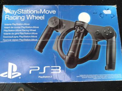 vand volan PS3 , PS4 move controler ,playstation 3 , move racing wheel foto