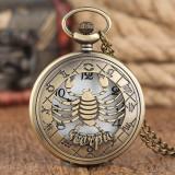 Ceas de buzunar Vintige Scorpion