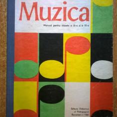Muzica Manual pentru clasele a III-a si a IV-a {1987} - Carte Cultura generala