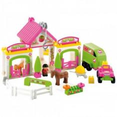 Set Abrick Horse Club Ecoiffier - LEGO Cuburi