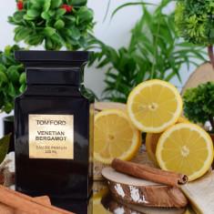 Parfum Original Tom Ford - Venetian Bergamot + CADOU - Parfum unisex, 100 ml, Apa de parfum