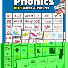 Tabla magnetica cu cuvinte si imagini