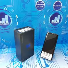 Samsung Galaxy S8 Black G950F FACTURA+GARANTIE IMPECABIL Fullbox - Telefon Samsung, Negru, Neblocat, Single SIM