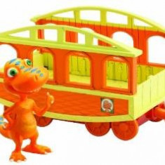 Buddy si Tren Tomy Dino Train, TO53001 - Vehicul