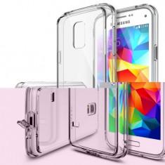 Husa silicon cu folie Samsung Galaxy S5 negru - Husa Telefon