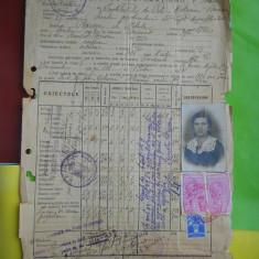 HOPCT DOCUMENT VECHI NR 119 FISCALIZAT/INSTITUTUL DE FETE MOTEANU BUCURESTI 1936