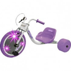 Bicicleta cu 3 roti, Elektra flashing, mov - Tricicleta copii