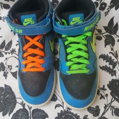 Nike SB originali, nr.39-24, 5 cm . - Adidasi dama Nike, Culoare: Multicolor, Piele naturala