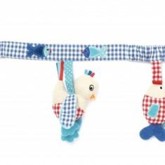 Jucarie de activitate pentru carucior, 65 cm, albastru - Jucarie carucior copii