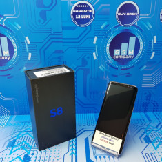 Samsung Galaxy S8 Orchid Grey G950F FACTURA+GARANTIE Impecabil Fullbox - Telefon Samsung, Gri, Neblocat, Single SIM