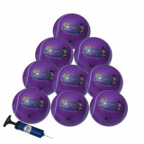 Set 10 mingi gonflabile 15 cm, Galaxy Purple