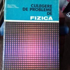 CULEGERE DE PROBLEME DE FIZICA - ION M. POPESCU