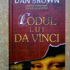 Dan Brown – Codul lui Da Vinci {Rao, 2004} - Carte politiste