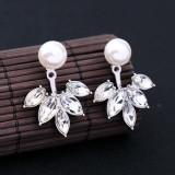 Cercei cu imitatie de perle