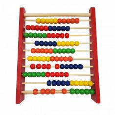 Socotitoare lemn, 100 bile - Jocuri Litere si Cifre