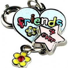 Breloc Charm, Friends 4 ever - Breloc copii