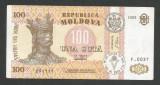 MOLDOVA  100  LEI  1992   [4]   P- 15a  ,  XF