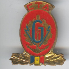 CTA - Geniu - Insigna Republica Socialista Romania 1970