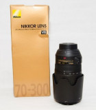 Nikon nikkor 70 - 300 mm 4.5 5.6 IF ED + filtru UV ultraslim Cokin
