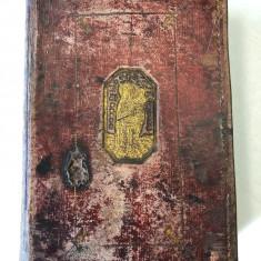 Carte veche Intru slava Sfintei treimi 1836