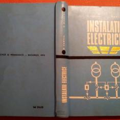 Instalatii Electrice - O. Centea, C. Bianchi - Carti Electrotehnica, Didactica si Pedagogica