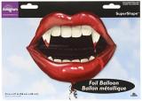 Balon folie gura de vampir, Anagram