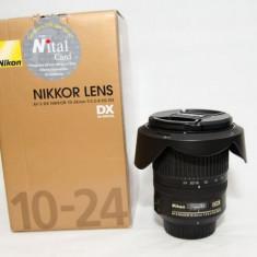 Nikon nikkor AF-S DX 10-24 3.5 4.5 G ED + filtru UV ultraslim Cokin - Obiectiv DSLR
