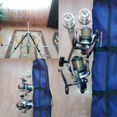 Vând mulinete Centurion+ Rod Pod Stabil - Mulineta