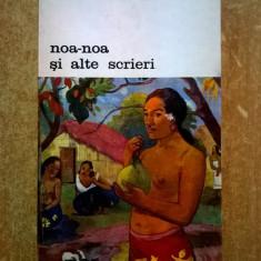 Paul Gauguin – Noa-noa si alte scrieri