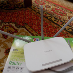 Router Wireless TP-link 300 Mbps, Porturi LAN: 4
