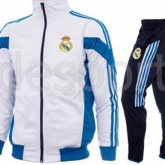 Trening REAL MADRID - Bluza si pantaloni conici - Modele noi - Pret Special 1254 - Trening barbati, Marime: M, L, XL, XXL, Culoare: Din imagine