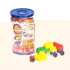 LEGO 64 PIESE - HUBY TOYS - LEGO Cuburi