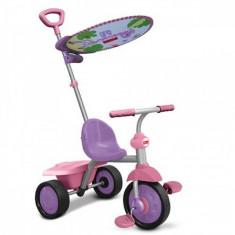 Tricicleta Glee Plus Mov cu Roz Fisher Price - Tricicleta copii