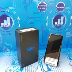 Samsung Galaxy S8 PLUS G955F SILVER FACTURA+GARANTIE Impecabil Fullbox - Telefon Samsung, Argintiu, Neblocat, Single SIM