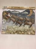 Advent Calendar 3D glitter Christmas
