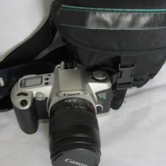 CANON EOS 500 N cu obiectiv si geanta Hama - Aparate Foto cu Film