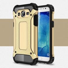 Husa Samsung Galaxy J5 (2015) - Hybrid Armour Gold - Husa Telefon