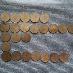 Lot 44 buc 50 bani 2010-2016 - Moneda Romania