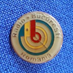 Insigna Radio Bucuresti - Telecomunicatii