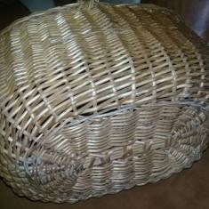Cos de picnic VECHI de nuiele cu capace traditional Romanesc,pt.Decor