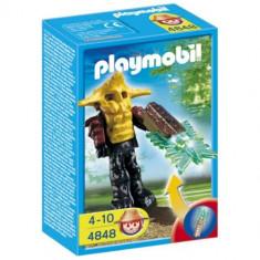 Playmobil Garda Templului Cu Arma Verde