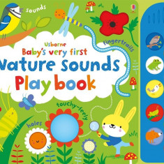 Babys Very First Nature Sounds Play book - Carte Usborne (0+)
