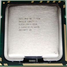 Procesor Gaming Intel Core i7 920 2.66GHz skt 1366 Nehalem - Procesor PC Intel, Numar nuclee: 4, 2.5-3.0 GHz