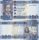 Sudanul de Sud 100 Pounds 2017 UNC