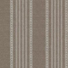 Rola tapet Adria Jacquard Stripe - Chocolate 52 cm x 10 m