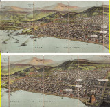 Grecia- Salonic, Salonique, Thessaloniki-carte postala multipla-rara, Necirculata, Printata