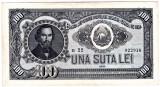 Bancnota 100 lei 1952 VF+/XF